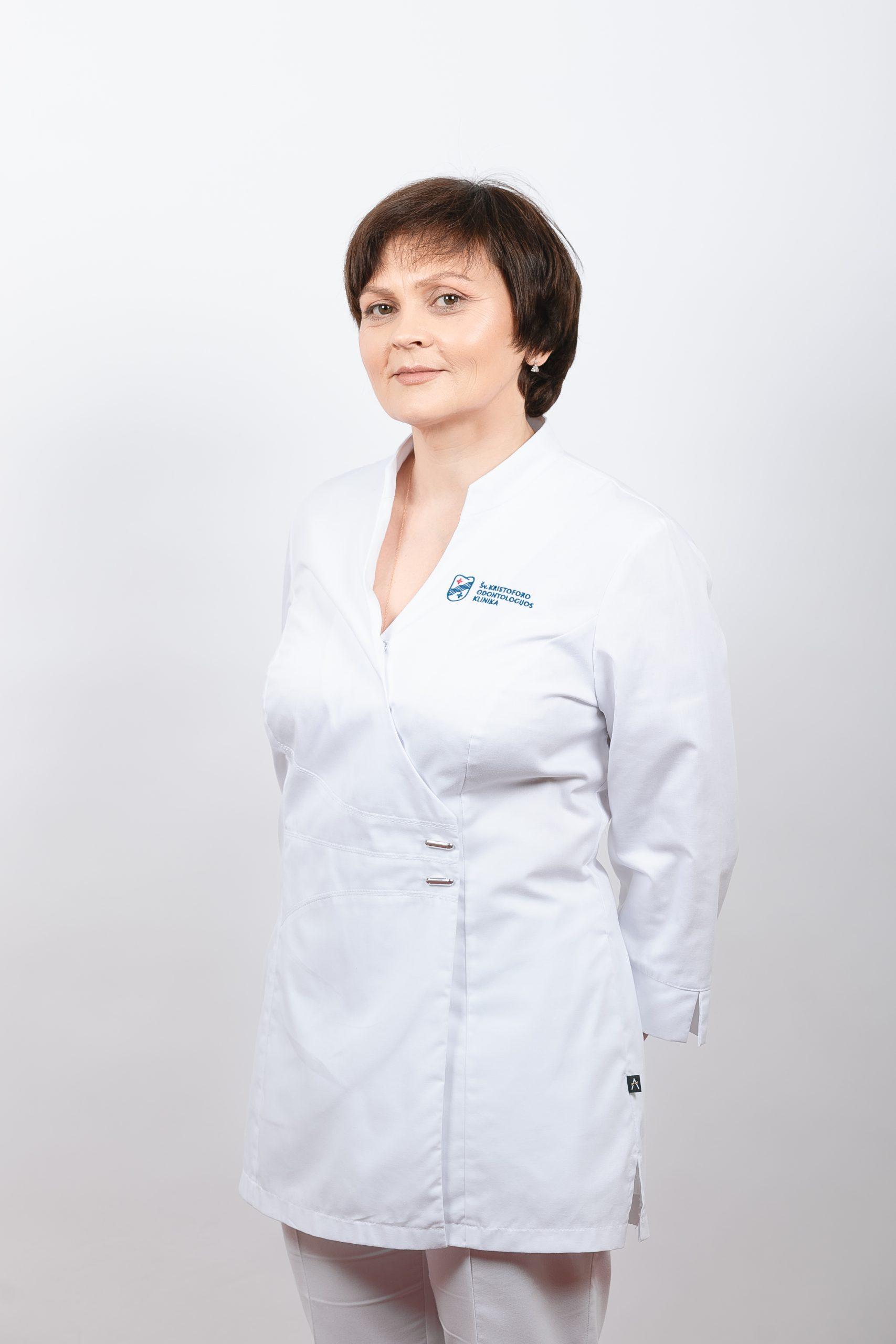 Gydytoja odontologė Olga Siniakova