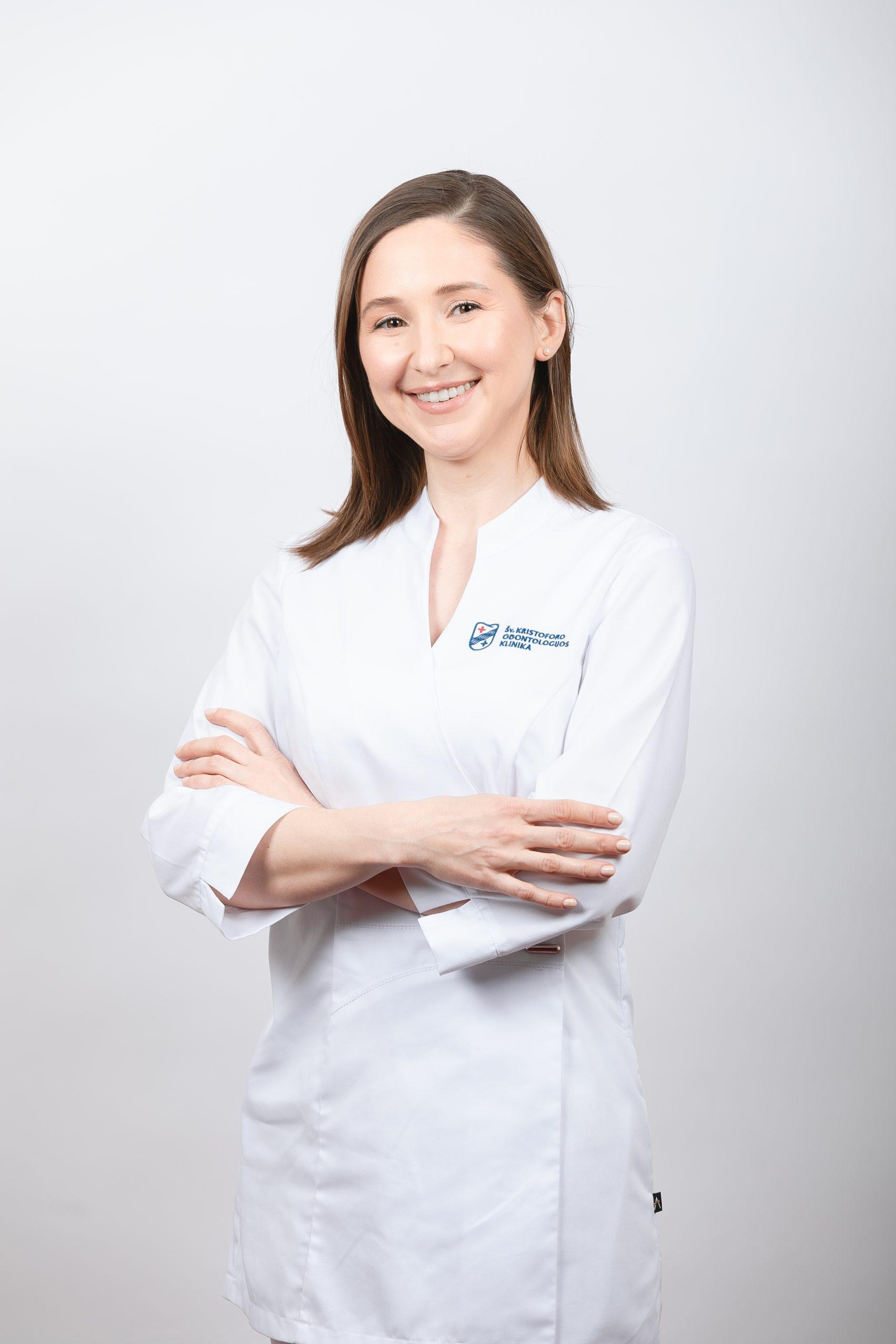 Gydytoja odontologė Eglė Politaitė