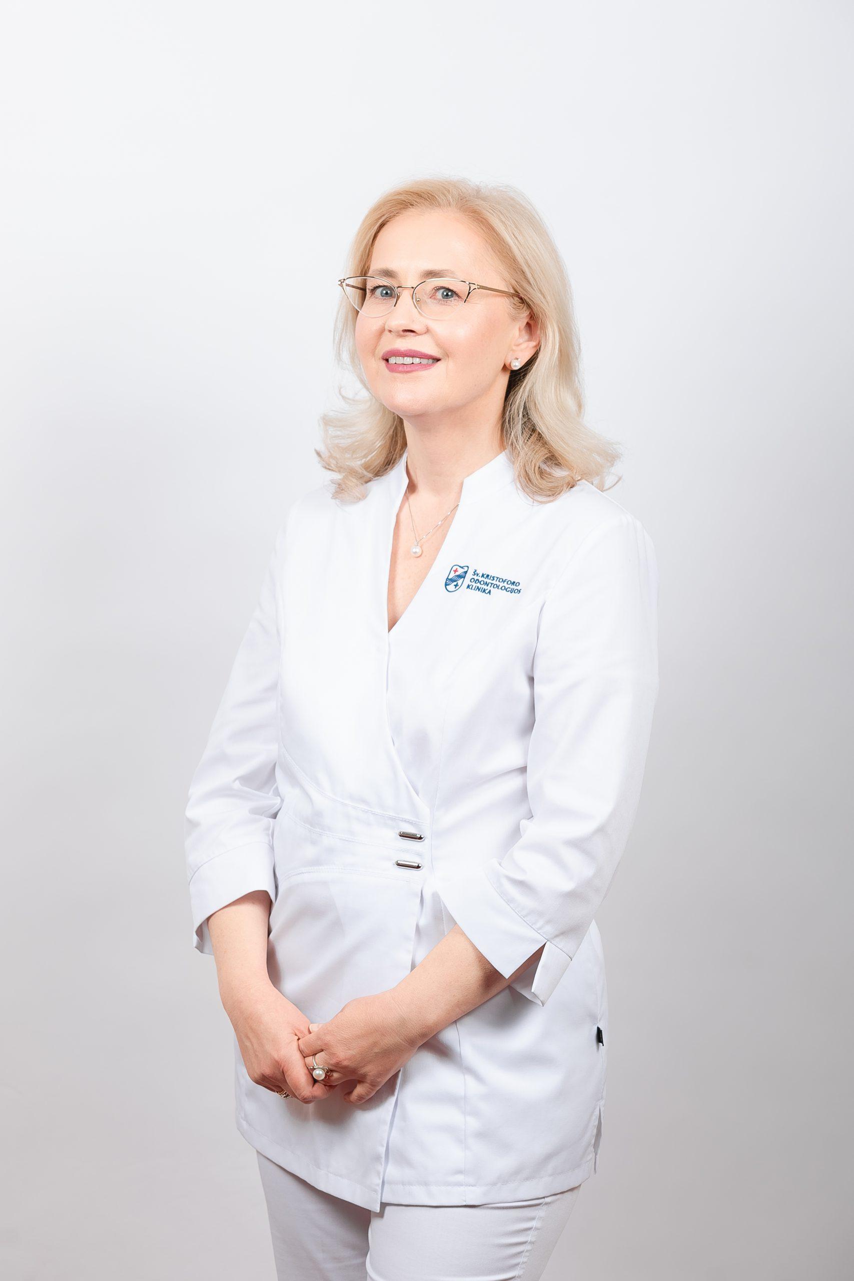 Vaikų odontologė Giedrė Gumbelevičienė