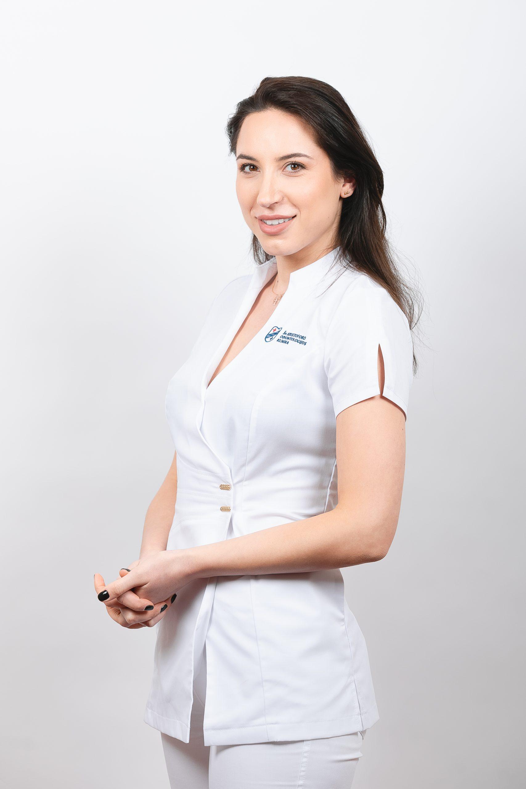 Gydytoja ortopedė Viktorija Golcova
