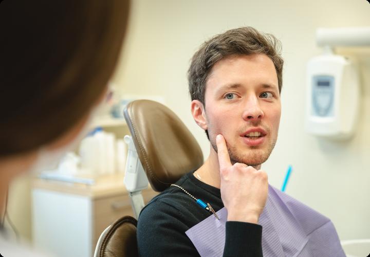 Odontologijos kėdėje
