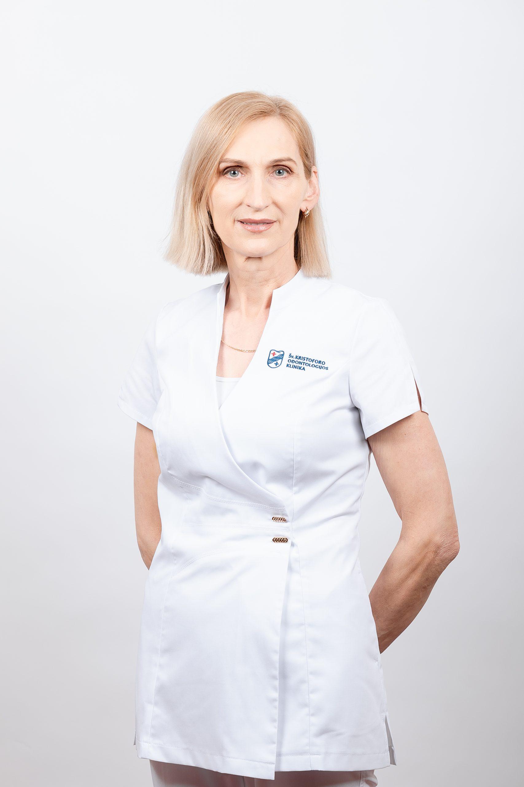 Sterilizacinės specialistė Ramutė Kripaitienė