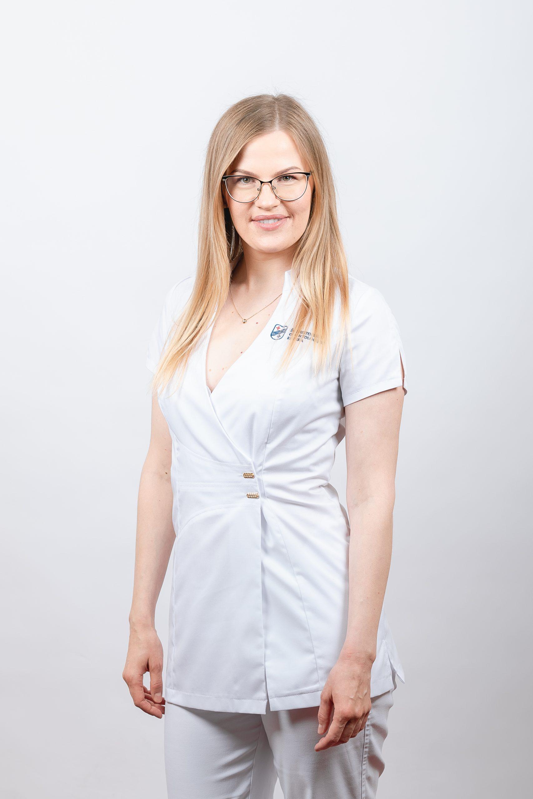 Burnos higienistė Lina Kairelienė