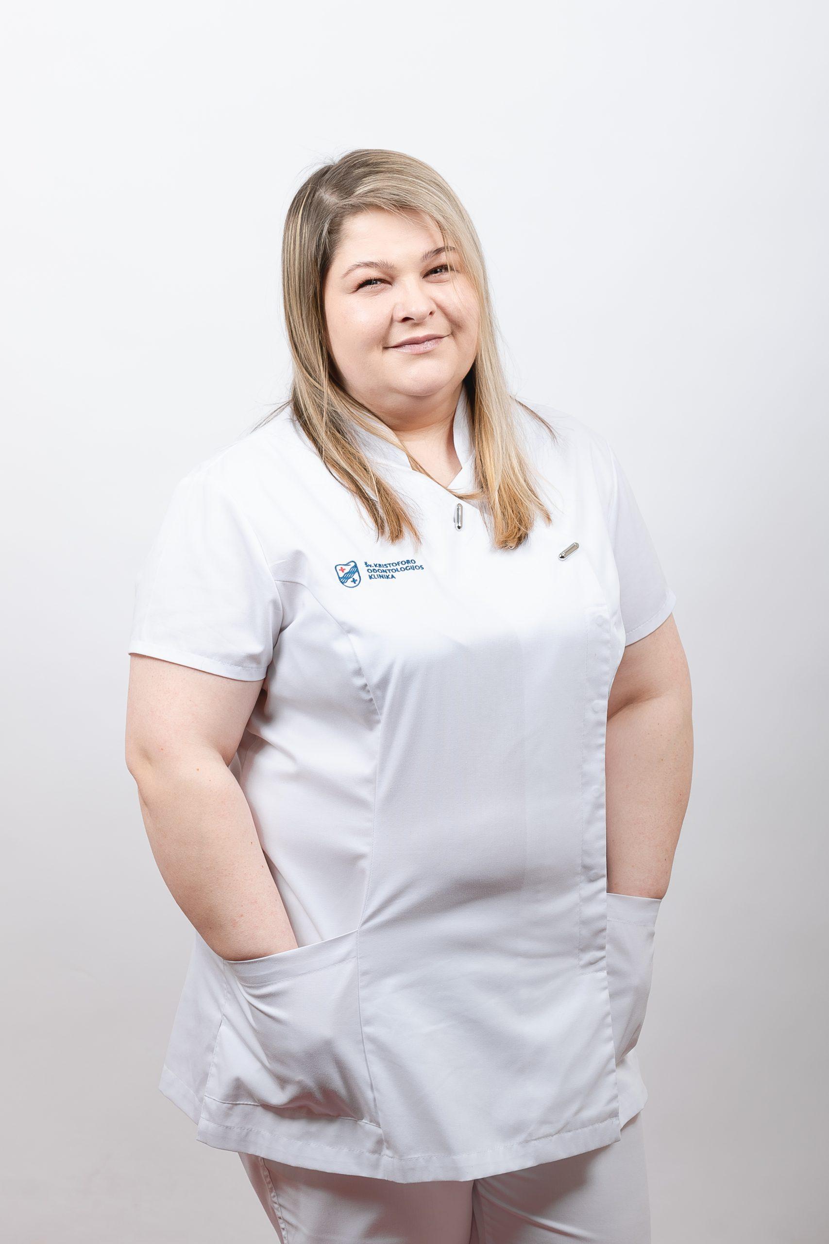 Gydytojo asistentė Anželika Kaminskienė