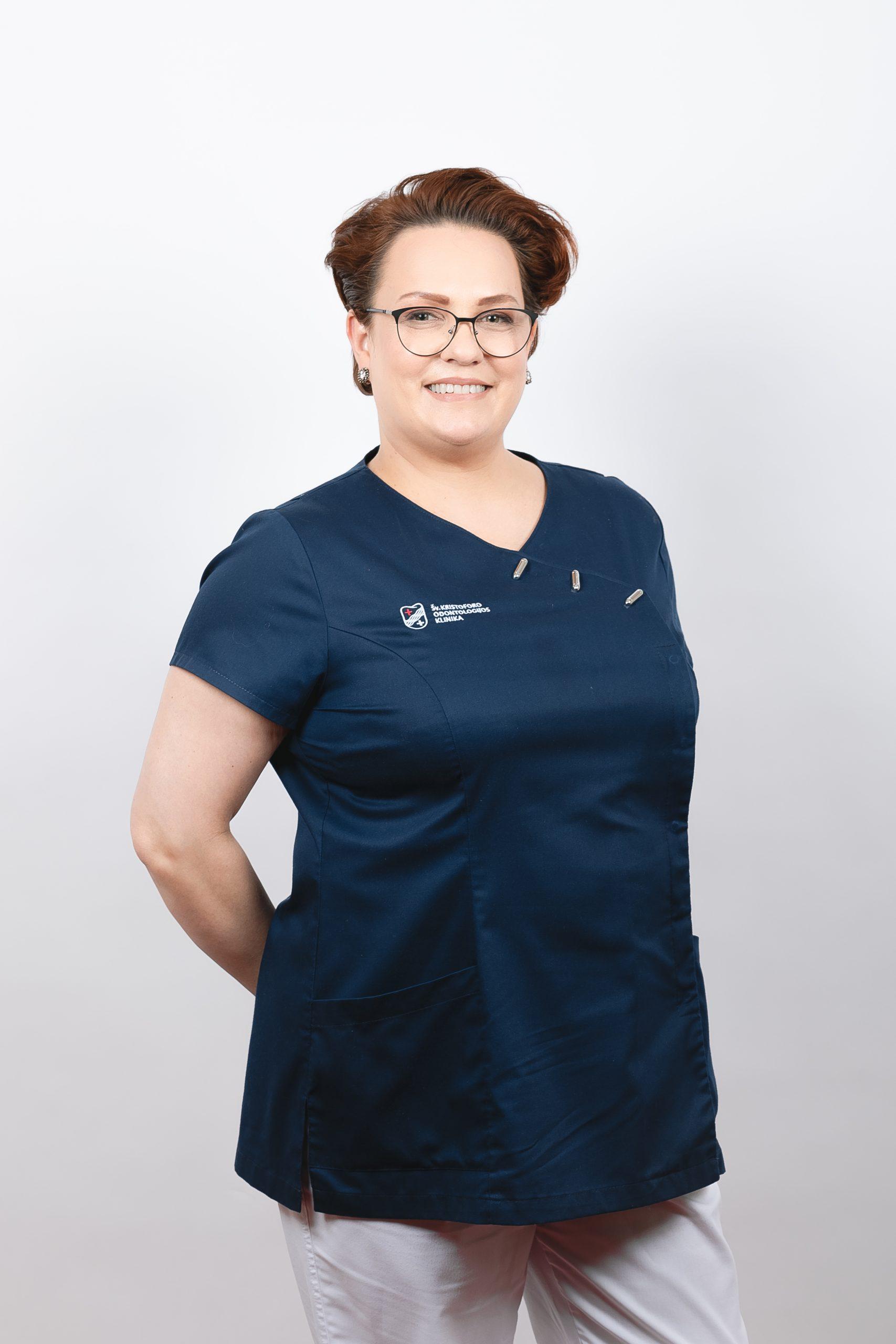 Burnos higienistė Milda Misūnaitė